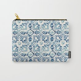tile pattern IV - Azulejos, Portuguese tiles Carry-All Pouch