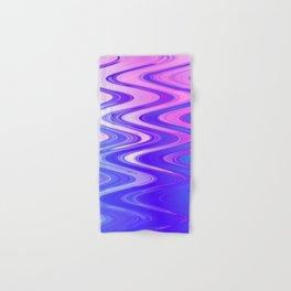 Cotton Candy Swirls Hand & Bath Towel