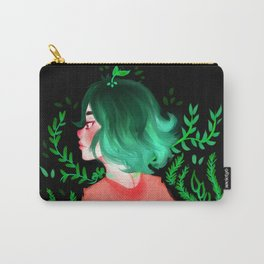 Young flower by Ane Teruel Carry-All Pouch