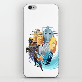 Doctor Who - Rose and the Doctor iPhone Skin
