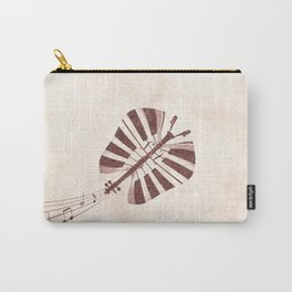 Butterfly Jazz Carry-All Pouch