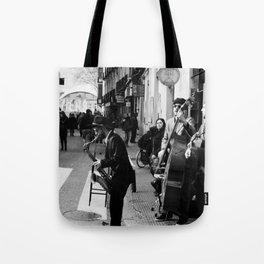Spain Street Sax Tote Bag