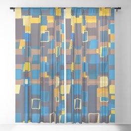 Headache. Sheer Curtain