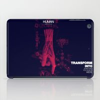 human iPad Cases featuring Human by Frank Moth