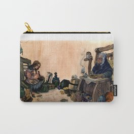 Tara and the Witch  Carry-All Pouch