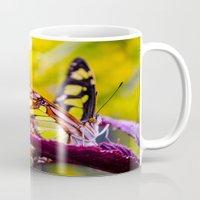 malachite Mugs featuring Malachite by Cathy Donohoue