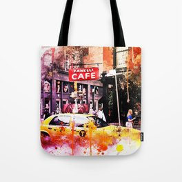NYC Watercolor Collection - In Soho Tote Bag