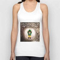 percy jackson Tank Tops featuring Percy - Snow Angel by Rich Mitch Pics