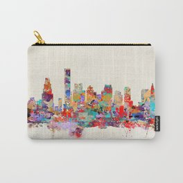Boston city watercolor Carry-All Pouch