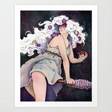 Witch Holda Art Print