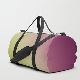Gradient Colours: Green Purple Duffle Bag