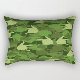 Handy Camo GREEN Rectangular Pillow