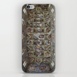 Sistine Chapel  iPhone Skin