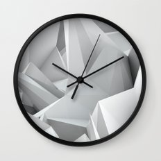 White Noiz Wall Clock
