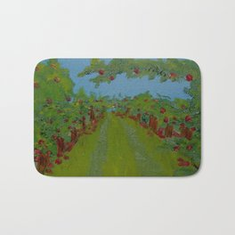 Apple Trees Bath Mat