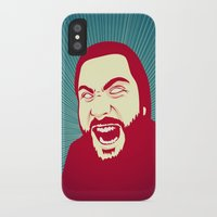 scream iPhone & iPod Cases featuring Scream by FalcaoLucas