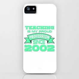 Best Teacher teaching 7th school love children teach Tshirt iPhone Case