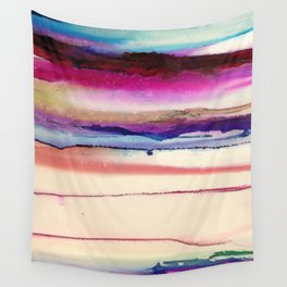The Sun Sets and Rises Again (an Abstract of Hope) Wall Tapestry
