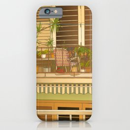 Balcony View in Cuba iPhone Case