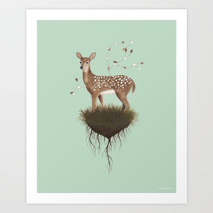 Deer Kunstdrucke