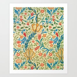 William Morris - Flora - Digital Remastered Edition Art Print
