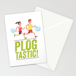 PLOGGING - PLOGTASTIC! 'PICK AND JOG' POLLUTION-BUSTING ECO-FRIENDLY PASTIME FROM SCANDINAVIA Stationery Cards