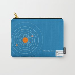 sorry Pluto, it's not you, it's me. Carry-All Pouch