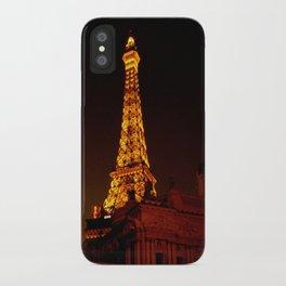 Paris le Vegas iPhone Case