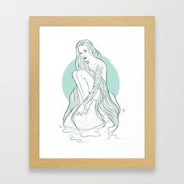 Siren Seirēn Framed Art Print