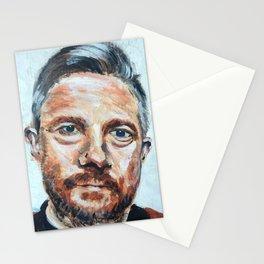 Martin Freeman Acrylic on Cardboard Stationery Cards