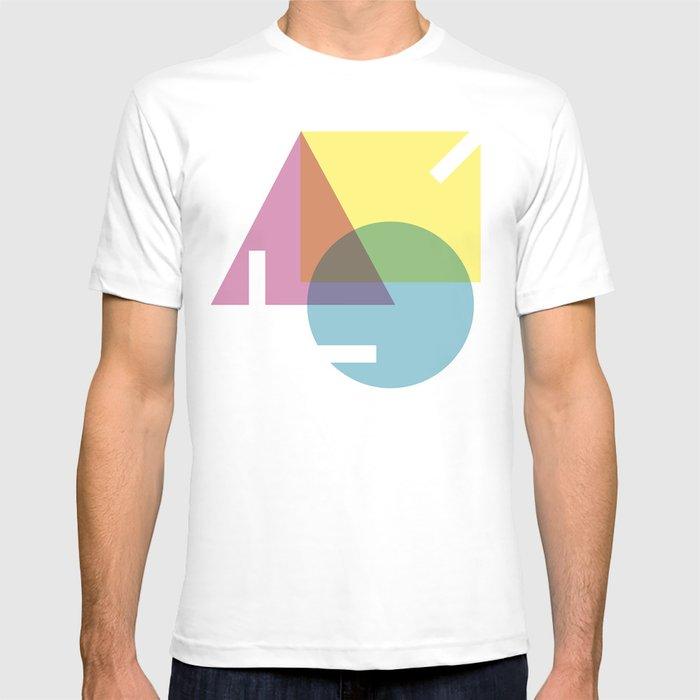 unvollständige T-shirt