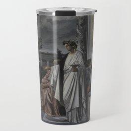 Plato's Symposium by Anselm Feuerbach Travel Mug