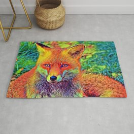 AnimalColor_Fox_001_by_JAMColors Rug