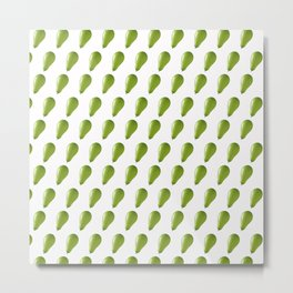 Green balloons. Metal Print