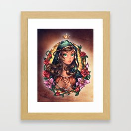 Our Lady of Guadalupe Framed Art Print