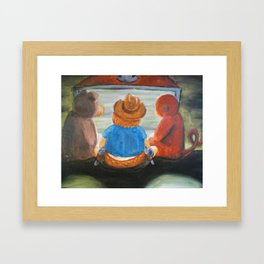The Duke and the Good Guys Framed Art Print