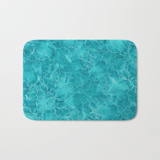 Frozen Leaves 21 Bath Mat