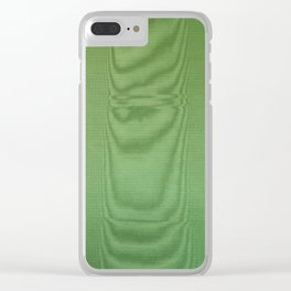Green Room Clear iPhone Case