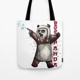 Bass Panda Tote Bag