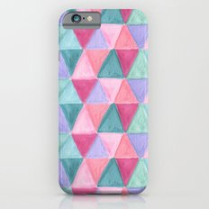 pastel triangle pattern Slim Case iPhone 6s
