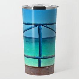 Blue Ocean Paradise Travel Mug