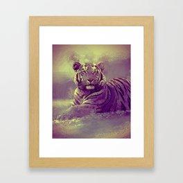 Tiger II Framed Art Print