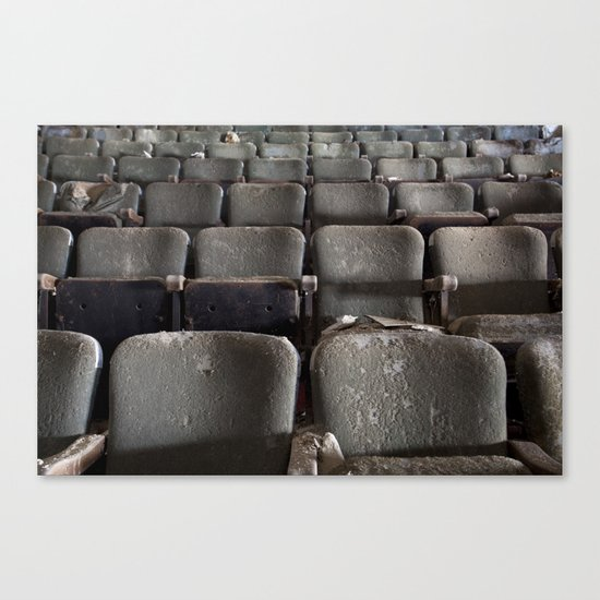 Theater Seats Canvas Print