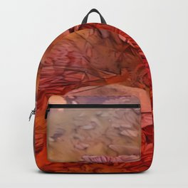 Red Tricholoma Mushrooms Backpack