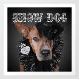 ShowDog Art Print