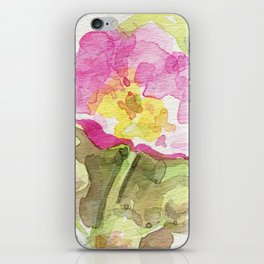Wild Summer Rose iPhone Skin