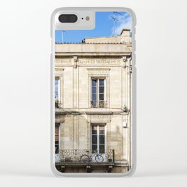 Old building in  Bordeaux Clear iPhone Case