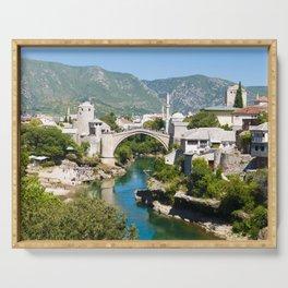 Summer in Mostar Serving Tray