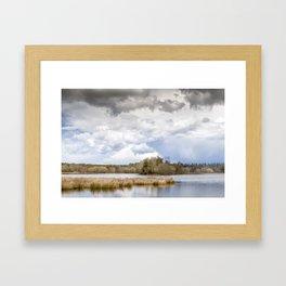 Stormy Light Framed Art Print