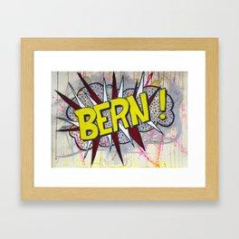 Bern! Framed Art Print